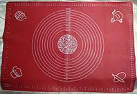 Силиконовый коврик для выпечки и раскатки 600*430 №631