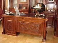 Стол из натурального дерева Офис Офисная мебель