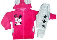 Снова в продаже стильные велюровые костюмы для девочек серии Минни ТМ УКРТРИКОТАЖ!