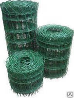 Сетка сварная 100х85*2,4/3 декоративная в полимере (0,65х25м)