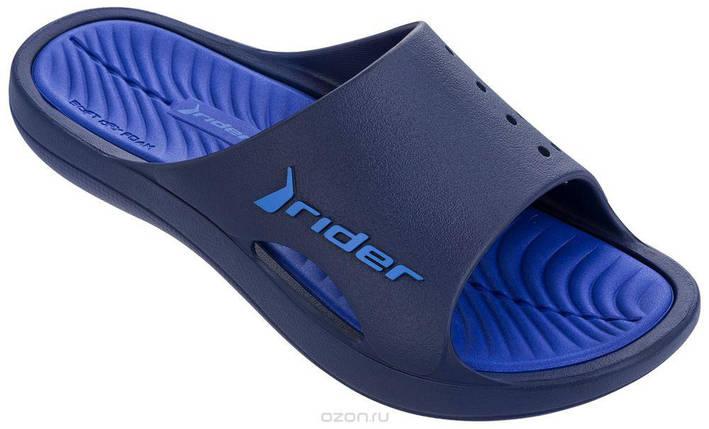 Оригинал Шлепанцы мужские 82216-21119 Rider Bay VII SS18 Blue синие, фото 2