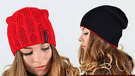 Весенняя двухсторонняя шапка, фото 1