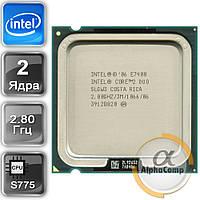 Процессор Intel Core2Duo E7400 (2×2.80GHz/3Mb/s775) БУ