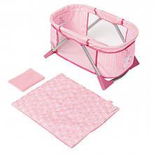 Кроватка манеж для куклы Baby Annabell Zapf Creation 794982