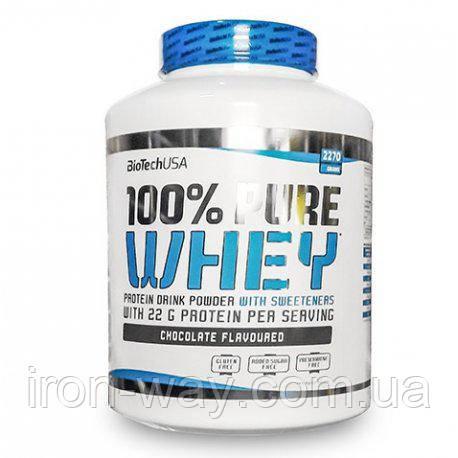 BioTech USA 100% Pure Whey 2270g (Cherry-Yogurt)
