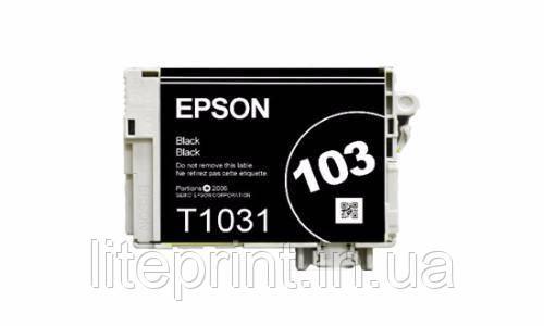 Оригинальный картридж Epson T1031, Black