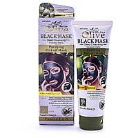 Черная маска для лица Olive Black Mask  WKL466
