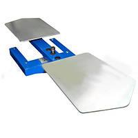 Карусельный стол на 2 рабочие плиты для печати на ткани для  полуавтоматов серии SCHULZE HAT