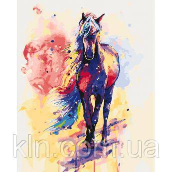 Картина за номерами Ідейка Краса коні (КН2497) 40 х 50 см
