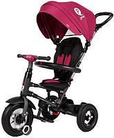 Велосипед трехколесный Sun Baby QPlay Rito Air Бордовый с надувными колесами (J01.014.1.2)