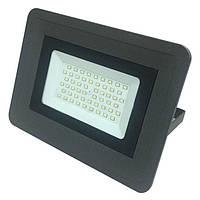 Светодиодный прожектор Biom 50Вт Slim холодный белый