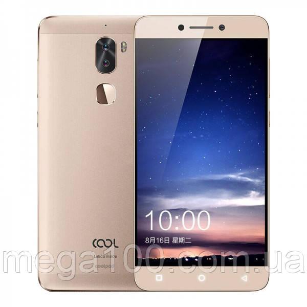 "Смартфон Letv LeEco Cool1 Gold (""5.5, памяти 3/32, 4060 мАч)"