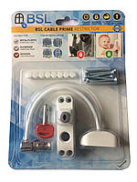 Блокиратор открывания окна от детей BSL Cable Prime Restrictor, белый.