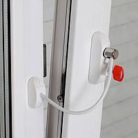 Блокиратор открывания окна от детей BSL Cable Prime Restrictor, белый