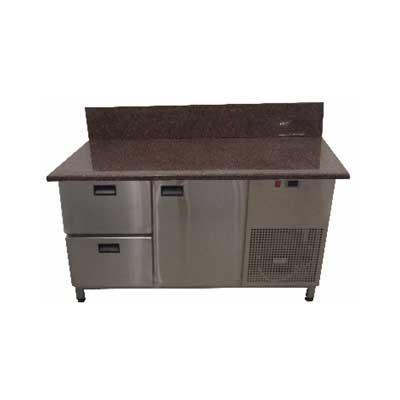 Холодильный стол для пиццы Tehma SH127GB