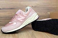 Кроссовки женские New Balance 999 код товара OD-2497. Розовые