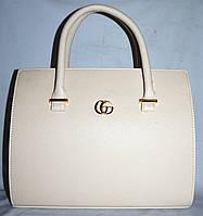 Женская каркасная молочная сумка Gucci 33*26 см