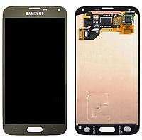 Оригинальный дисплей (модуль) + тачскрин (сенсор) Samsung Galaxy S5 G900A G900F G900H G900I G900M (бронзовый)
