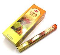 Аромапалочки Hem Indian Spice (Индийские специи) (20 палочек/уп) шестигранник