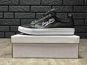 "Кроссовки, кеды Philipp Plein Shoes ""White/Black"", фото 2"