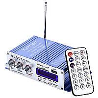 HY-502 Hi-Fi двухканальный усилитель в авто USB SD DVD CD FM MP3 плеер