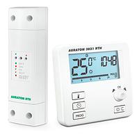 Комнатный термостат Auraton 3021 RTH - беспроводной - программатор
