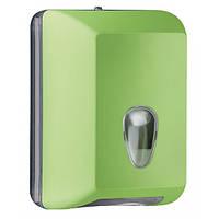 622VE Держатель туалетной бумаги V складка  зелёный