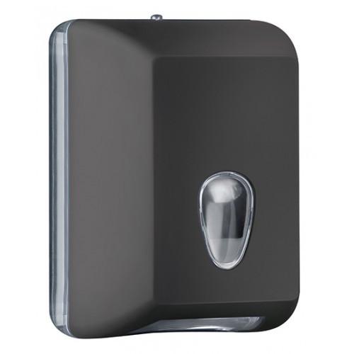 622NE Держатель туалетной бумаги V складка черный