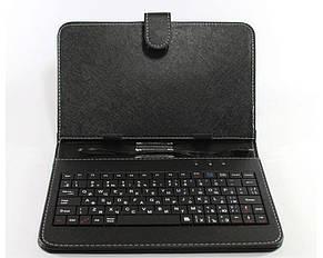 Чехол на планшет KEYBOARD 7  black micro, фото 3