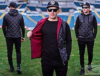 Мужской спортивный костюм тройка, весна-осень