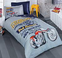 Детское постельное белье ранфорс Young Style Biker