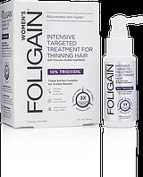Foligain женский лосьон для роста волос с 10% триоксидилом