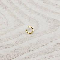 Кольцо соединительное 8мм золото