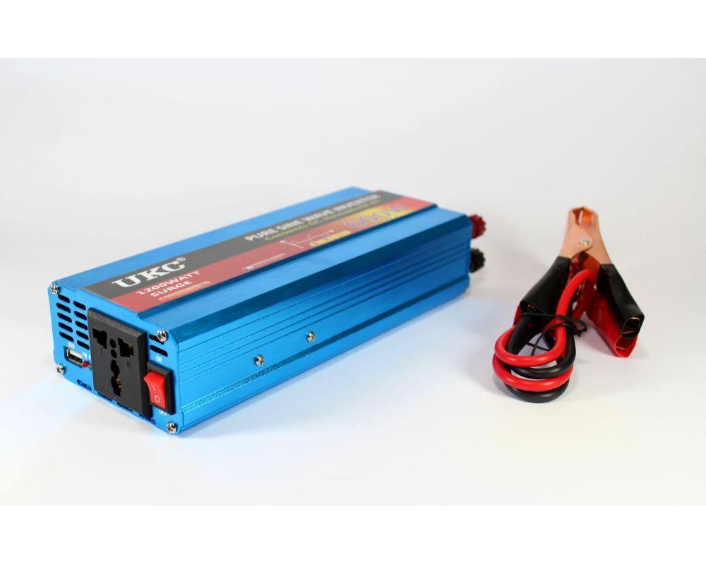 Синусоидальный преобразователь AC/DC 1200W, инвертор