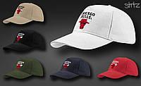Баскетбольная кепка с красным быком чикаго булс Chicago Bulls реплика