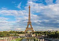 Фотообои бумажные на стену 368х254 см : Париж - Эйфелева башня (11422P8CN), фото 1