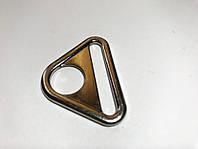 Треугольник металлический литой 4см (100 шт) никель
