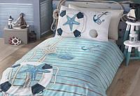 Детское постельное белье ранфорс Young Style Sea