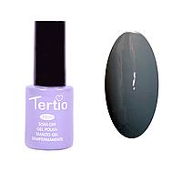 Гель лак Tertio №111, 10 мл серый