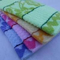 Набор махровых полотенец 12 шт