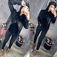Женская модная куртка косуха 2860а