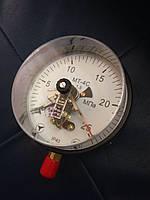 Вакуумметр электроконтактный МТ-4С (диаметр корпуса 160мм), фото 1