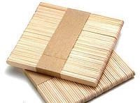 Шпатели деревянные для косметических процедур ЛИЦА 50 шт.(11*1*0,2 см)