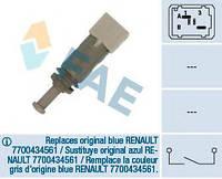 Датчик педали тормоза Renault Trafic/Master/Kangoo 97- (2 конт.) (серый), код 24891, FAE