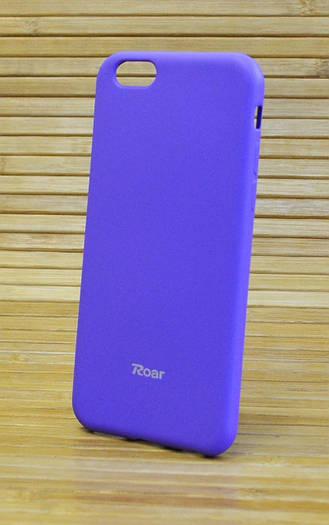 Силиконовый чехол на Айфон, iPhone 6 / 6s ALL DAY фиолетовый