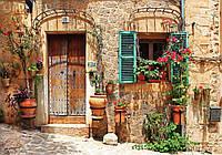 Фотообои 3D улица 368х254 см : Красивый фасад дома (10388P8CN)