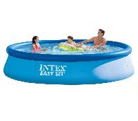 Надувной бассейн Intex28143Easy Set Pool 396x84