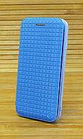 Чехол-книжка кожаная на Айфон, iPhone 6 / 6s Totu, цвет голубой