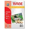 Фотобумага WWM глянцевая 225г/м кв, 13см х 18см, 100л (G225.P100)