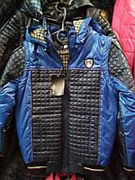 Куртка- Жилетка Монклер для мальчика 5-12 лет демисезонная